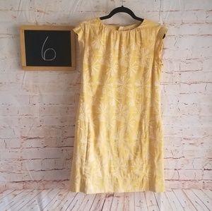 Generra Sleeveless Dress Yellow Size 6